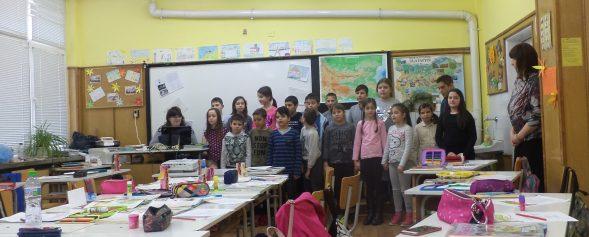 Открит урок посветен на 140 години от Освобождението на България